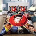 Elvis Presley Picture Collage Duvet Cover Bedding Set
