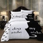 Dog Side And My Side Printed Bedding Duvet Cover Bedding Set