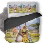 Madagascar 3 Europes Most Wanted Duvet Cover Bedding Set