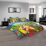 Cartoon Movies The Batman Tarzan Adventure Ho N 3d  Duvet Cover Bedroom Sets Bedding Sets