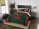 Miami Hurricanes Bedding Set (Duvet Cover & Pillow Cases)