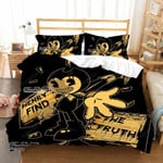 Bendy And The Ink Machine Duvet Cover Bedding Set
