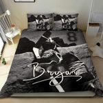 Ice Hockey Personalized Duvet Cover Bedding Set With Signature And Number
