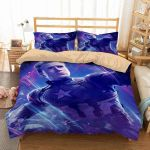 3d Captain America Bedding Set Duvet Cover