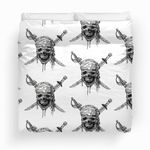 Pirates Of The Caribbean Pattern Bedding Set (Duvet Cover & Pillow Cases)
