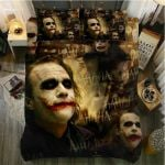 Laughing Joker 3d Printed Bedding Set  (Duvet Cover & Pillow Cases)