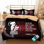 Ncaa Florida State Seminoles 3 Logo N 3d Duvet Cover Bedding Sets 1