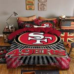 San Francisco 49ers Duvet Cover Bedding Set