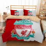 3d Liverpool Football Club Logo Soccer Duvet Cover Bedding Set