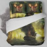 3d Pirates Of The Caribbean Bedding Set (Duvet Cover & Pillow Cases)
