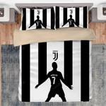 3D Juventus Cristiano Ronaldo 7 Soccer Player Bedding Set