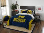 Michigan Wolverines Gs-Cl-Kl2309 Bedding Set (Duvet Cover & Pillow Cases)