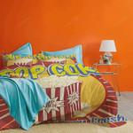 Popcorn Cinema Snack Bedding Set (Duvet Cover & Pillow Cases)