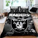 Oakland Raiders Duvet Cover Bedding Set