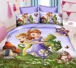Sofia The First Bedding Set 2 (Duvet Cover & Pillow Cases)