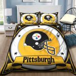 Pittsburgh Steelers Bedding Set Sleepy (Duvet Cover & Pillow Cases)