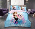 Disney-Frozen-Elsa-Anna-Princess-Bedding-Set (Duvet Cover & Pillow Cases)