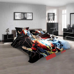 Cartoon Movies Shazam! N 3d  Duvet Cover Bedroom Sets Bedding Sets