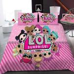 3d Lol Surprise! Pink Bedding Set (Duvet Cover & Pillow Cases)