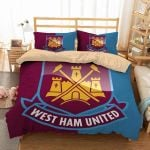 West Ham United Duvet Cover Bedding Set