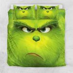 Grinch Face Bedding Set (Duvet Cover & Pillow Cases)