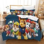 Paw Patrol Characters Duvet Cover Bedding Set