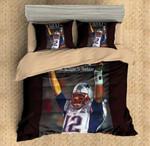 3d Tom Brady Bedding Set (Duvet Cover & Pillow Cases)