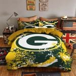 Green Bay Packers Bedding Set Sleepy (Duvet Cover & Pillow Cases)