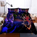 Fortnite Night Theme Duvet Cover Bedding Set