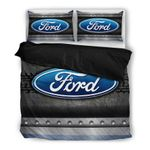 Ford Logo 3 Duvet Cover Set Bedding Sets