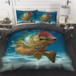 Gone Fishing Bedding Set (Duvet Cover & Pillow Cases)
