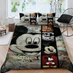 Mickey Mouse Bedding Set (Duvet Cover & Pillow Cases)