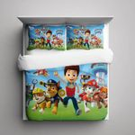 Paw Patrol 3d Duvet Cover Bedding Set
