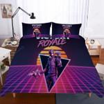 Fortnite Night Theme 3d Bedding Set (Duvet Cover & Pillow Cases)