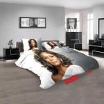 Musical Artists '80s Whitney Houston 2n 3d  Duvet Cover Bedroom Sets Bedding Sets