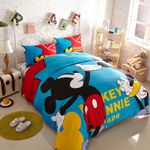 Buy Mickey And Minnie Mouse Duvet Cover Bedding Set