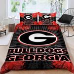 Georgia Bulldogs Bedding Set Sleepy (Duvet Cover & Pillow Cases)