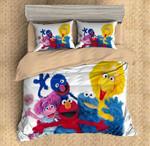 Sesame Street Characters Duvet Cover Bedding Set