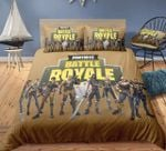 Fortnite Battle Royale Et Bedroomet Bed 3d Printing Gamekin 3d Bedding Set (Duvet Cover & Pillow Cases)
