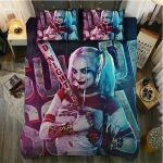 Suicide Squad Harley Quinn Bedding Set Cover