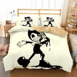 Bendy And The Ink Machine Video Game Bedding Set  (Duvet Cover & Pillow Cases)