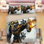 Transformers Bumblebee Duvet Cover Bedding Set