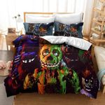 Five Nights At Freddy'S Characters Bedding Set For Fans (Duvet Cover & Pillow Cases)