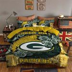 Green Bay Packers Bedding Set (Duvet Cover & Pillow Cases)
