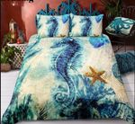 Retro Vintage Seahorse Bedding Sets (Duvet Cover & Pillow Cases)