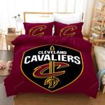 Nba Cleveland Cavaliers Basketball Logo Bedding Set  (Duvet Cover & Pillow Cases)