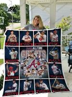 Mlb – Atlanta Braves Quilt Blanket 02
