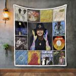 Carlos Santana Album Covers Quilt Blanket