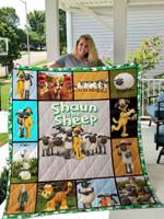 Shaun The Sheep Quilt Blanket 01