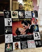 Gone With The Wind Poster Quilt Blanket